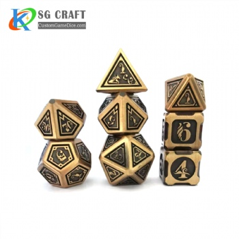 New Metal Dice Set