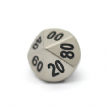 PEARL NICKEL METAL D10% DICE