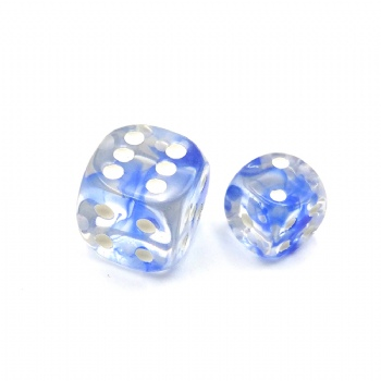 NEBULA BLUE D6 DICE