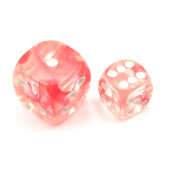 NEBULA RED D6 DICE