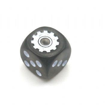GRAY CUSTOM D6 DICE