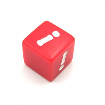 CUSTOM RED D6 DICE
